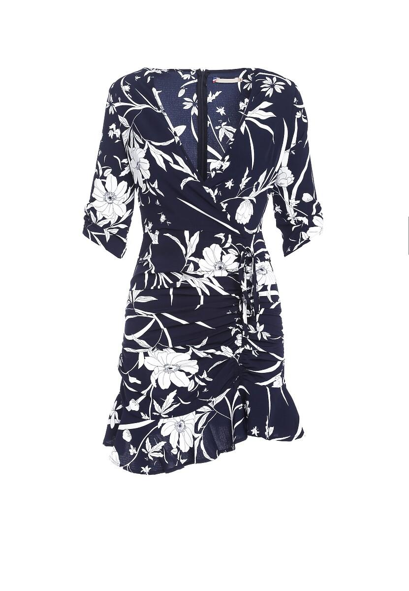 Granatowa Sukienka Violet