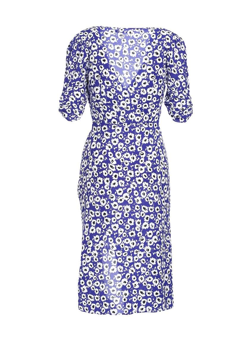 Ciemnoniebieska Sukienka Dyne
