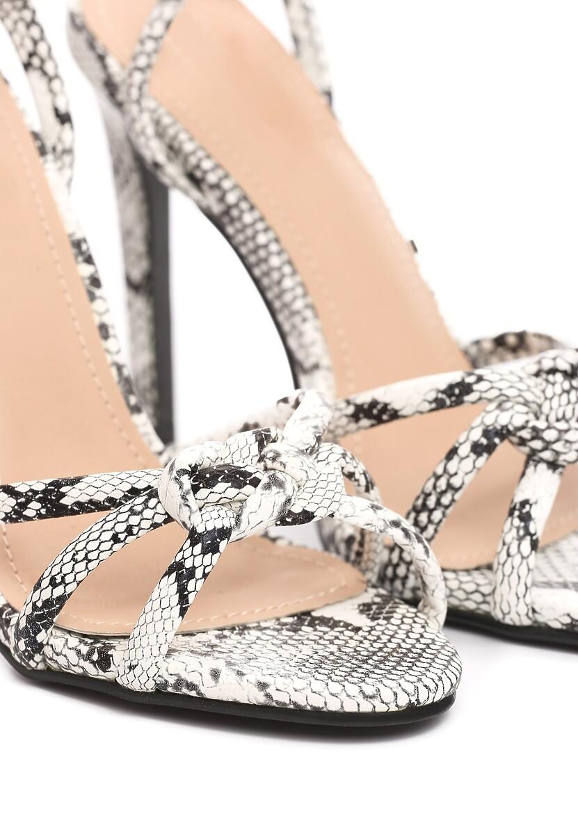 Wężowe Sandały Jubilance
