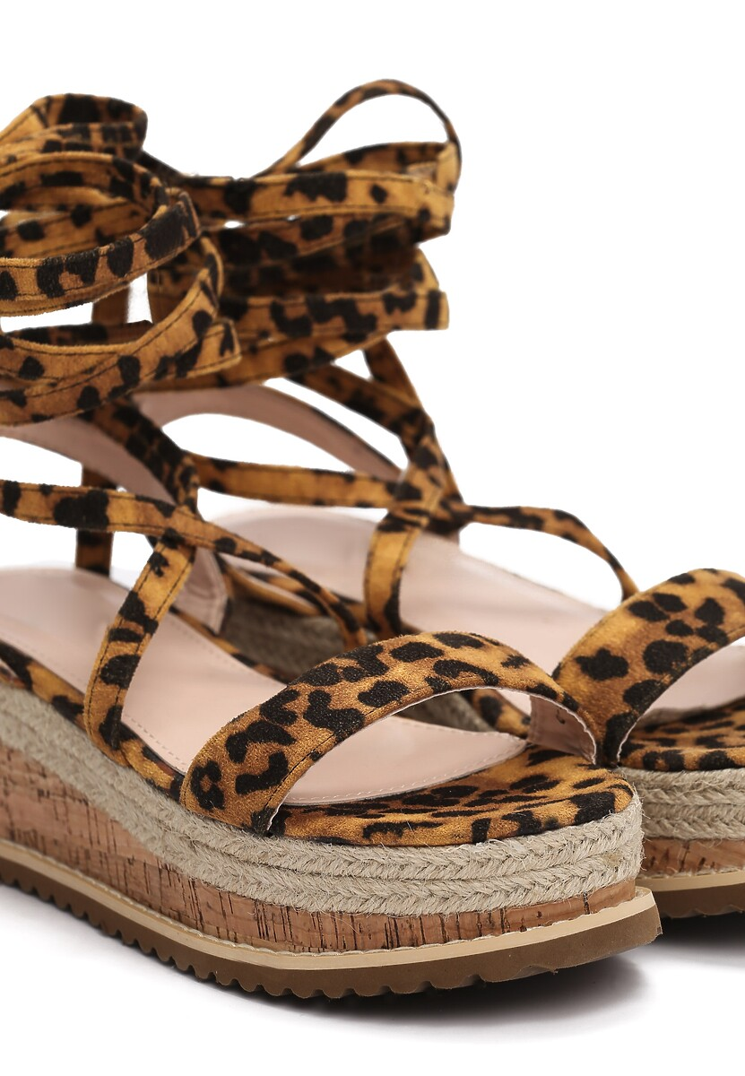 Panterkowe Sandały Annoyance