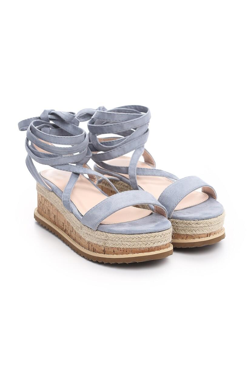 Niebieskie Sandały Annoyance