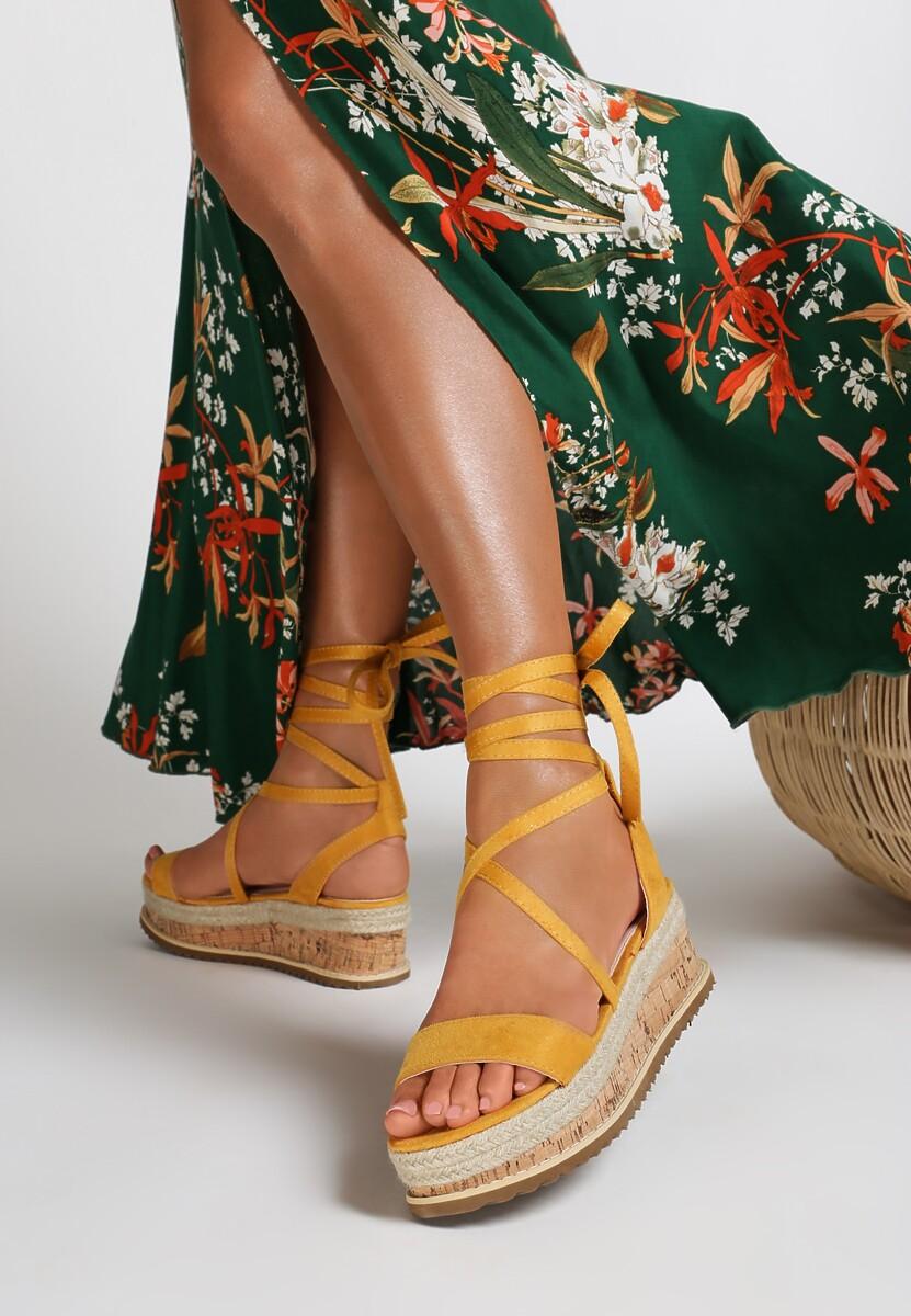 Żółte Sandały Annoyance