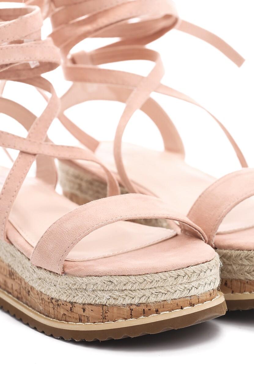 Różowe Sandały Annoyance