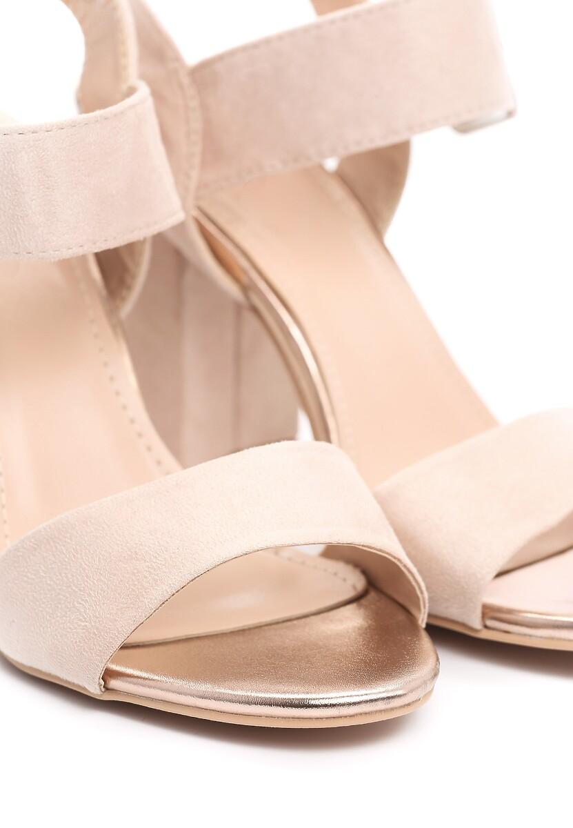 Beżowe Sandały Misinform