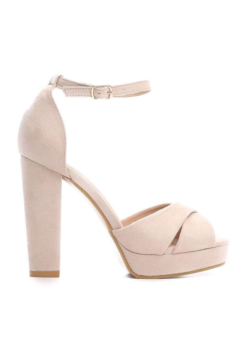 Beżowe Sandały Ask For