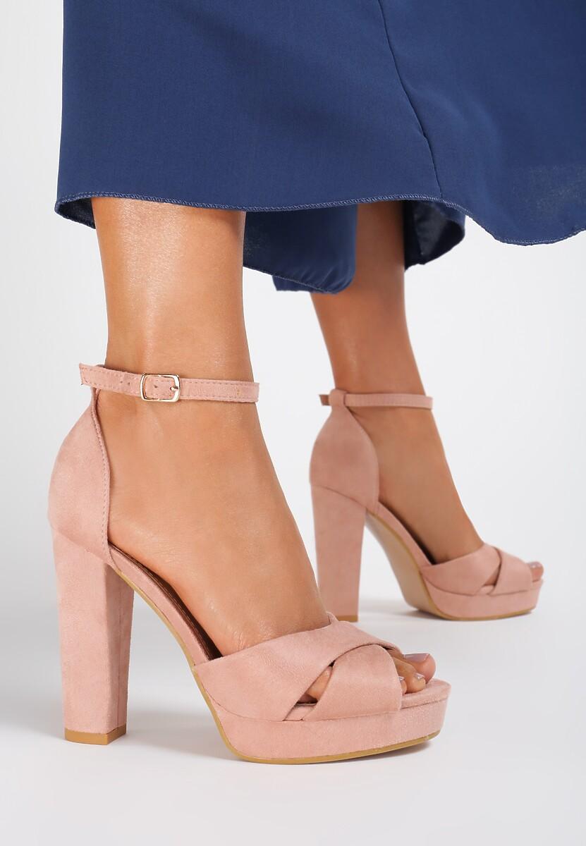 Różowe Sandały Ask For
