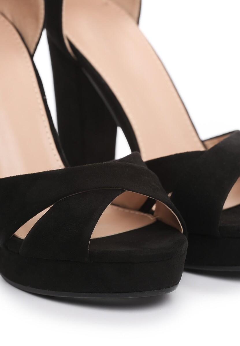 Czarne Sandały Ask For