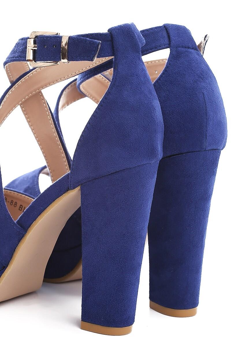Niebieskie Sandały Leisurely