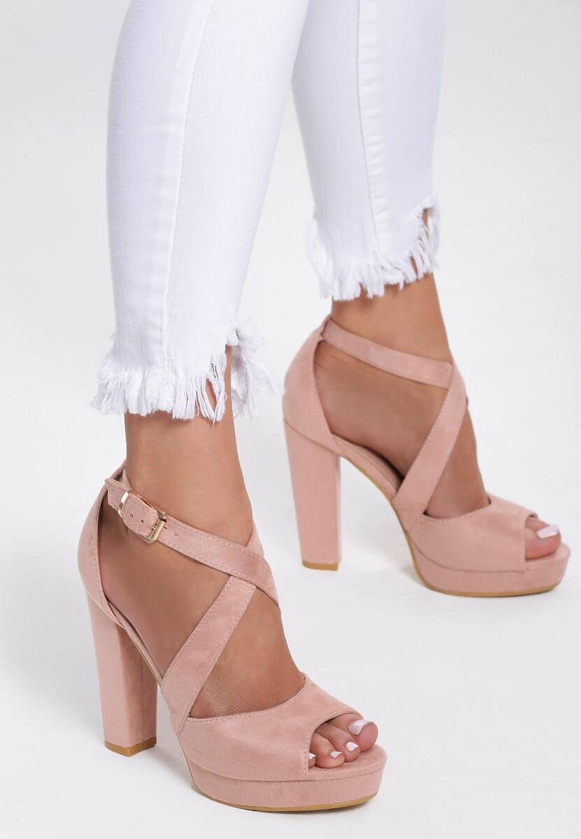 Różowe Sandały Leisurely
