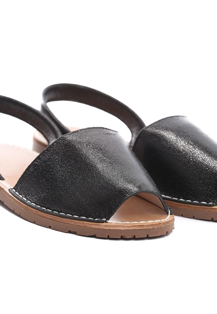 Czarne Sandały Bland