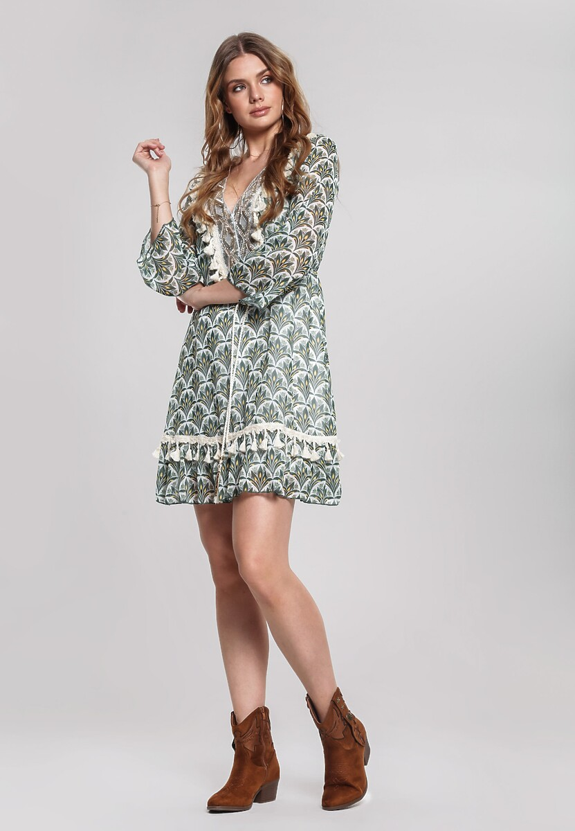 Zielona Sukienka Whitsun