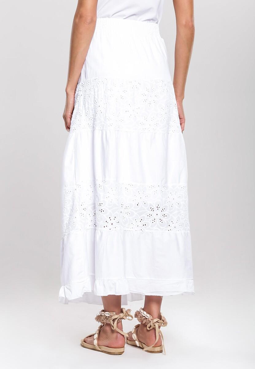 Biała Spódnica Trope