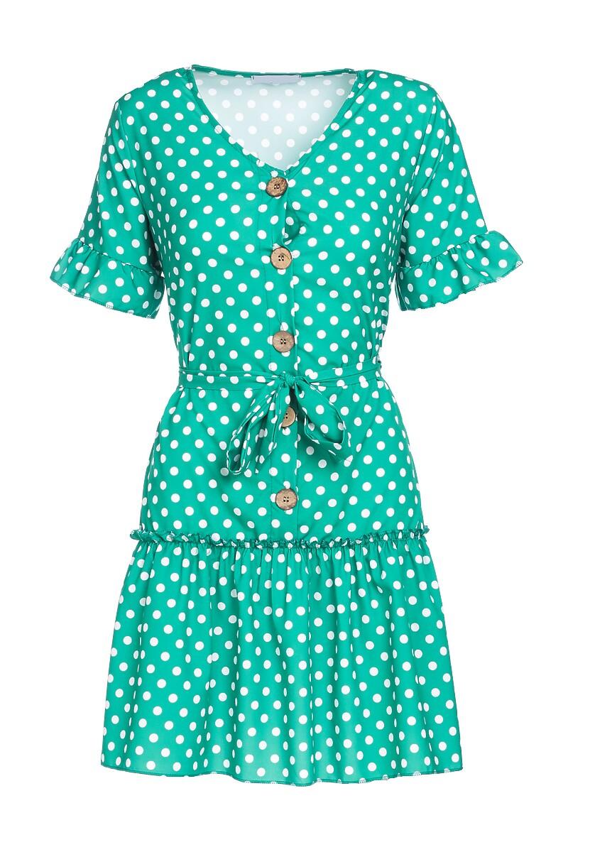 Zielona Sukienka Thundershower