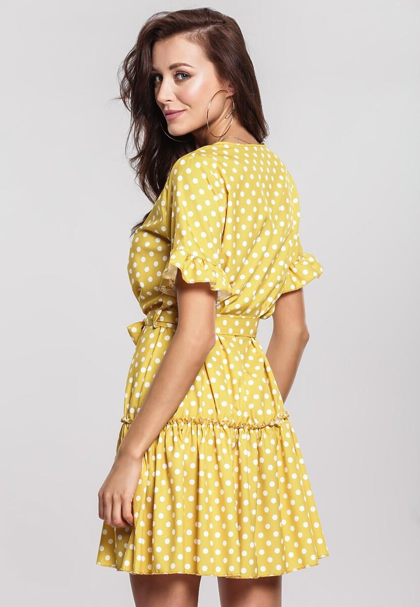 Żółta Sukienka Thundershower