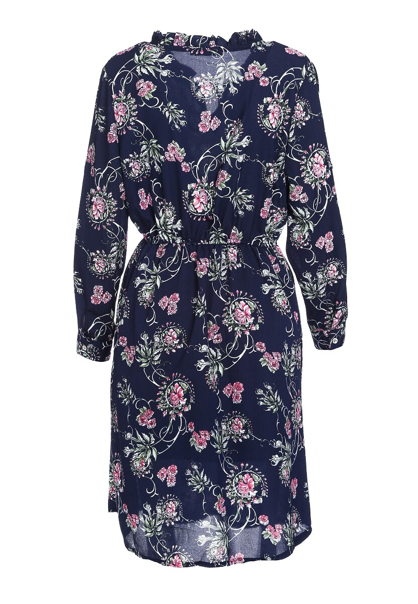 Granatowa Sukienka Unsweet