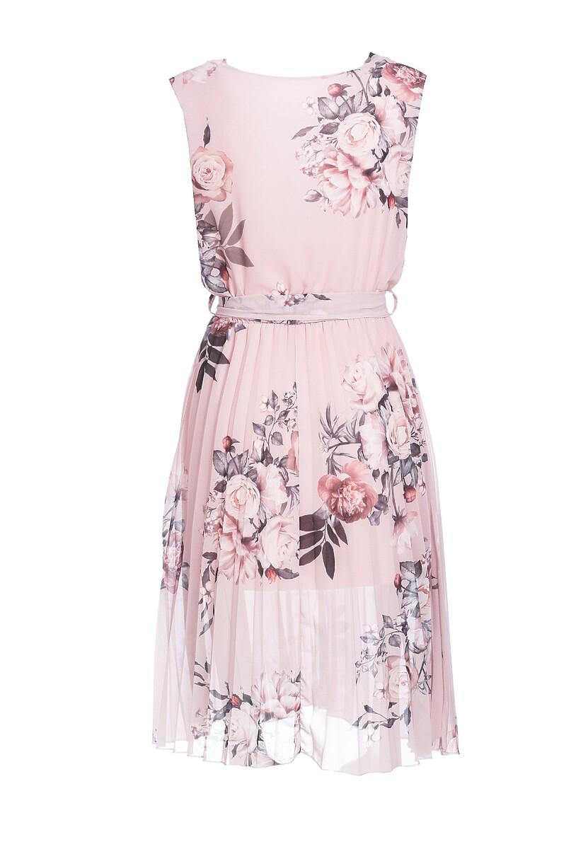 Jasnoróżowa Sukienka Typhoons