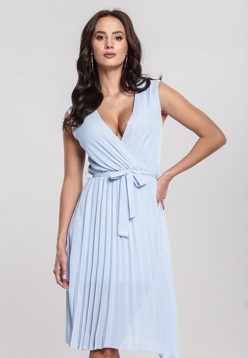 2bcd0d3f Niebieska Sukienka Oversweet