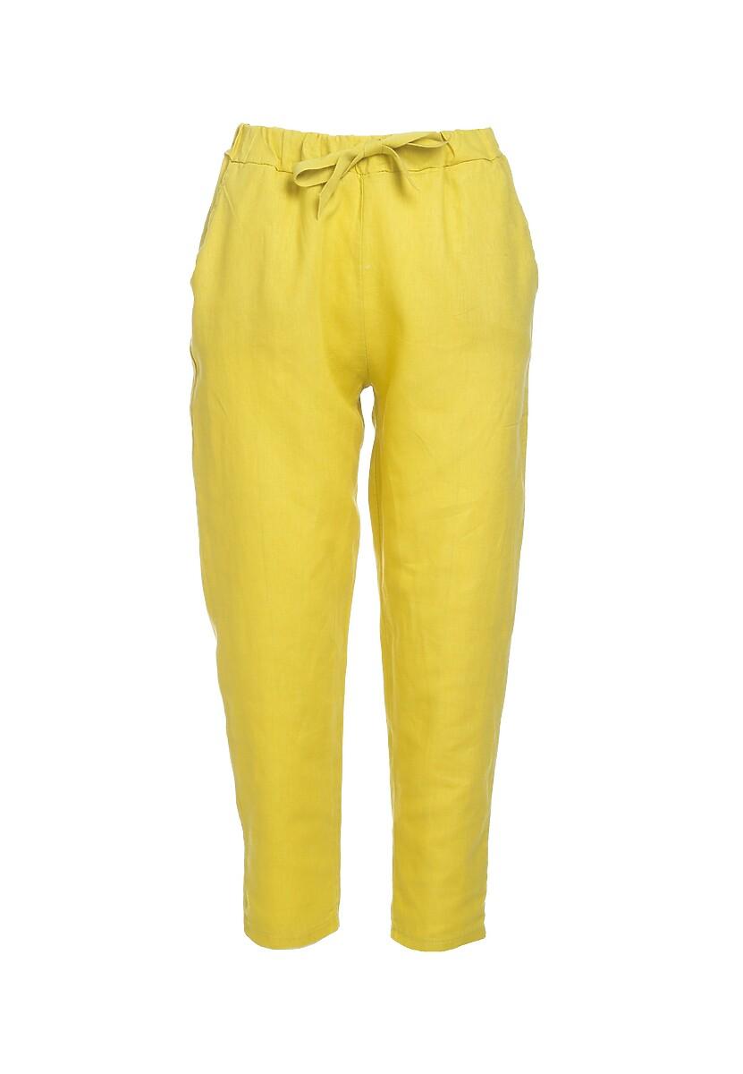 Żółte Spodnie Wintery
