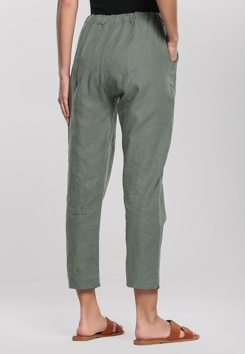 Zielone Spodnie Wintery
