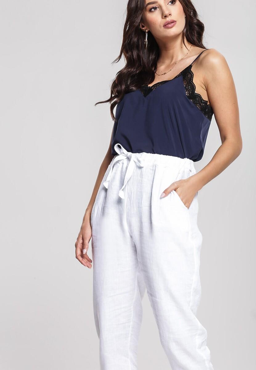 Białe Spodnie Wintery