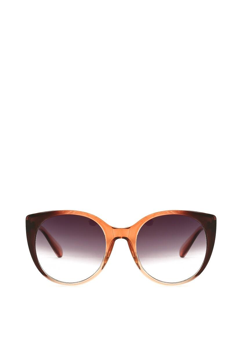 Jasnobrązowe Okulary Antisweet