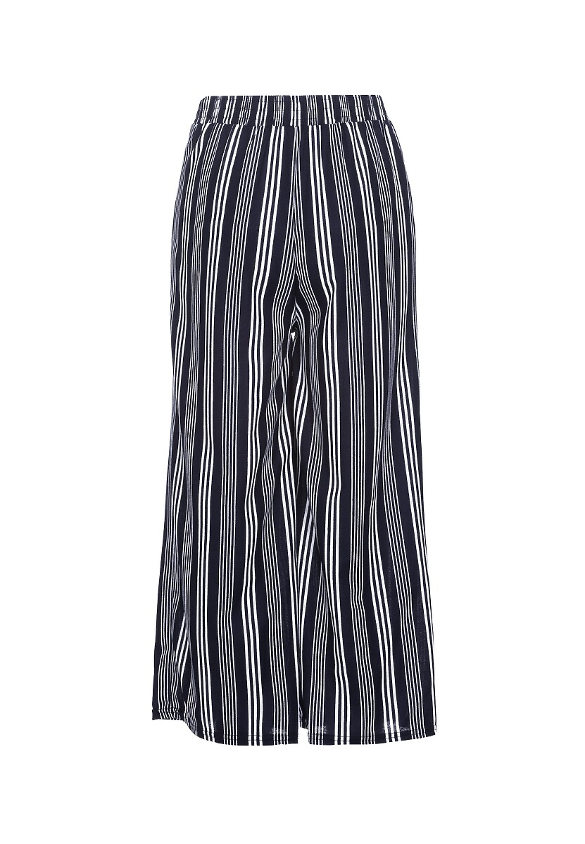 Granatowe Spodnie Aspirer
