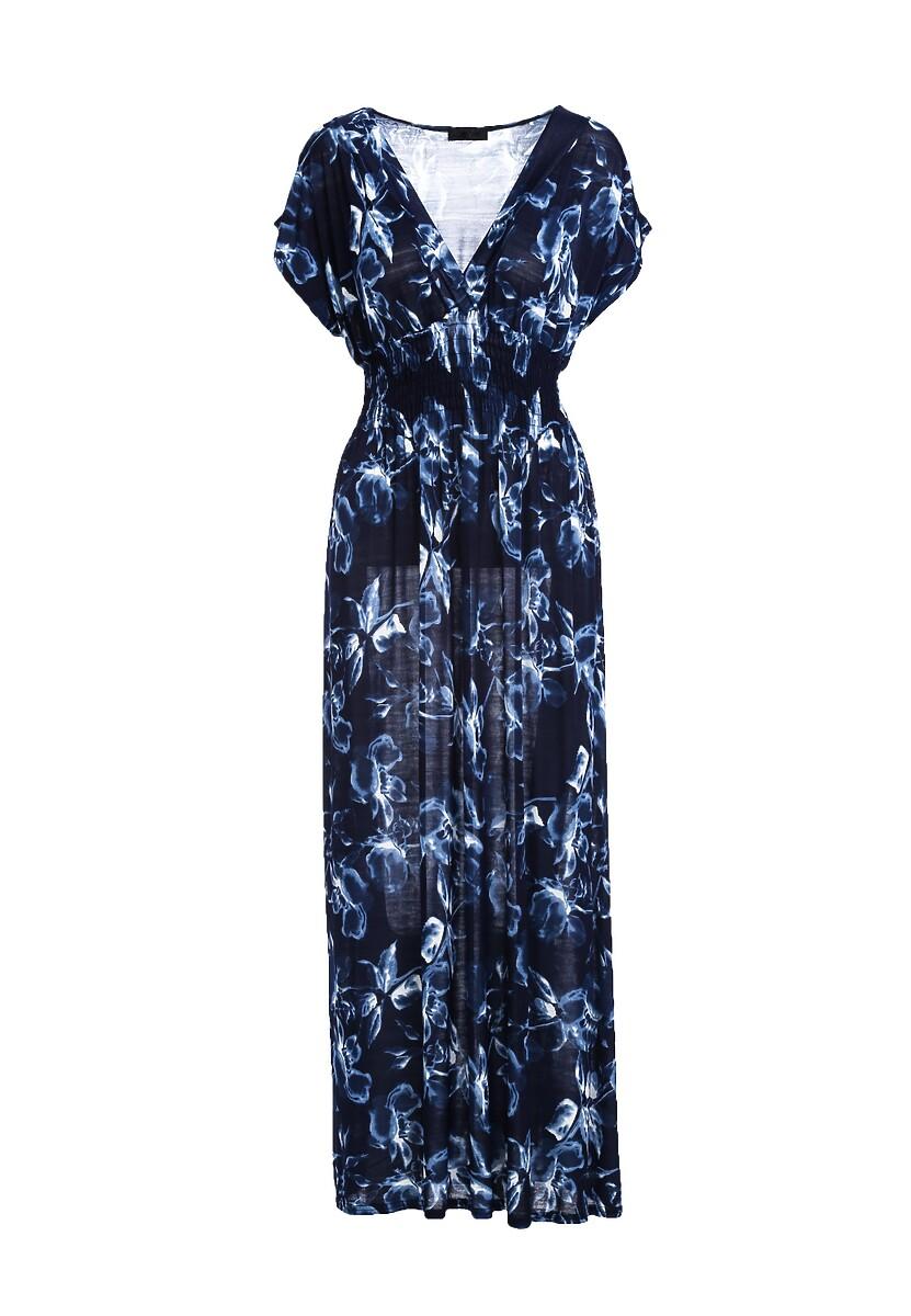 Granatowa Sukienka Put At Ease