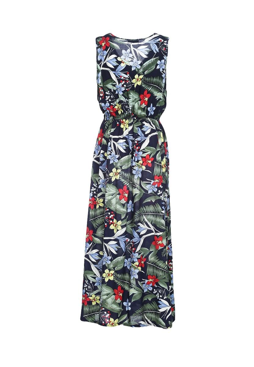 Granatowa Sukienka Millpond