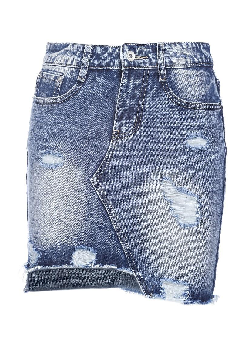 Niebieska Spódnica Pedantic