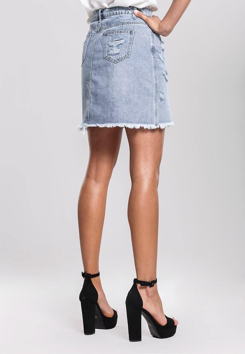 Niebieska Spódnica Vapid