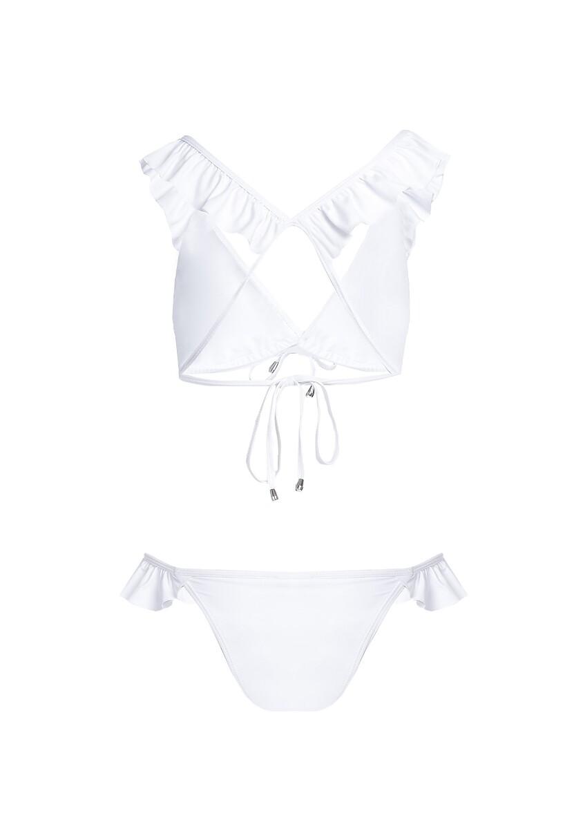 Białe Bikini Crystalline