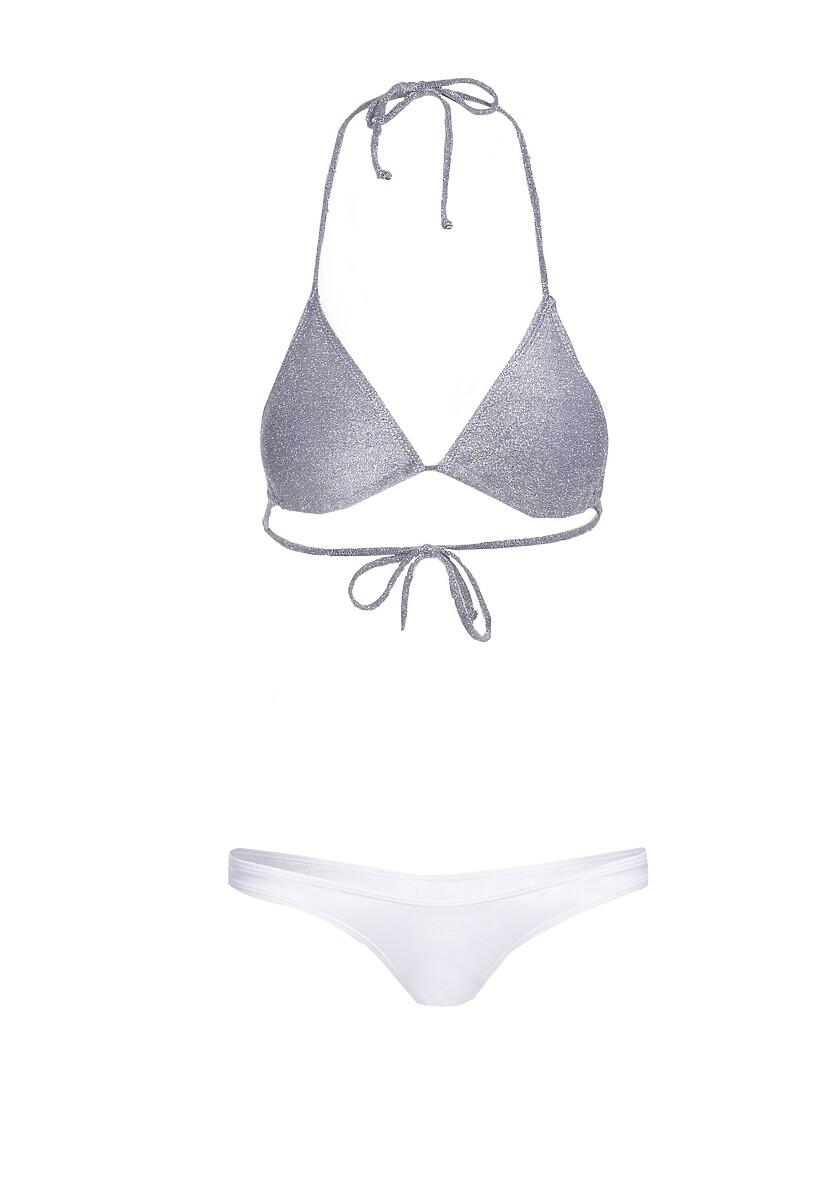 Fioletowo-Białe Bikini Jupiter