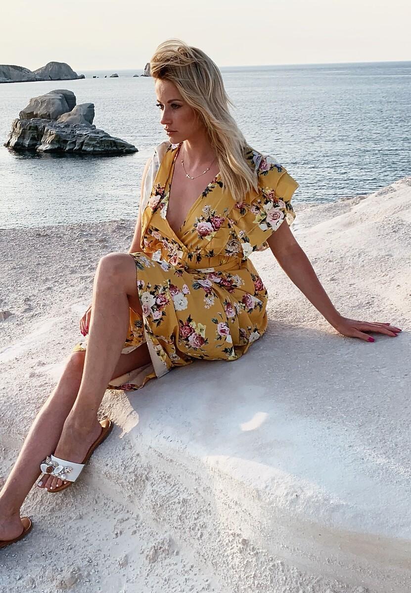 Żółta Sukienka Certificatory