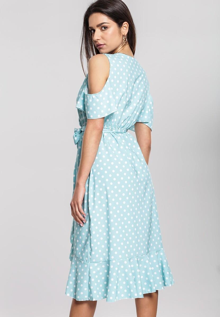 Miętowa Sukienka Breezes