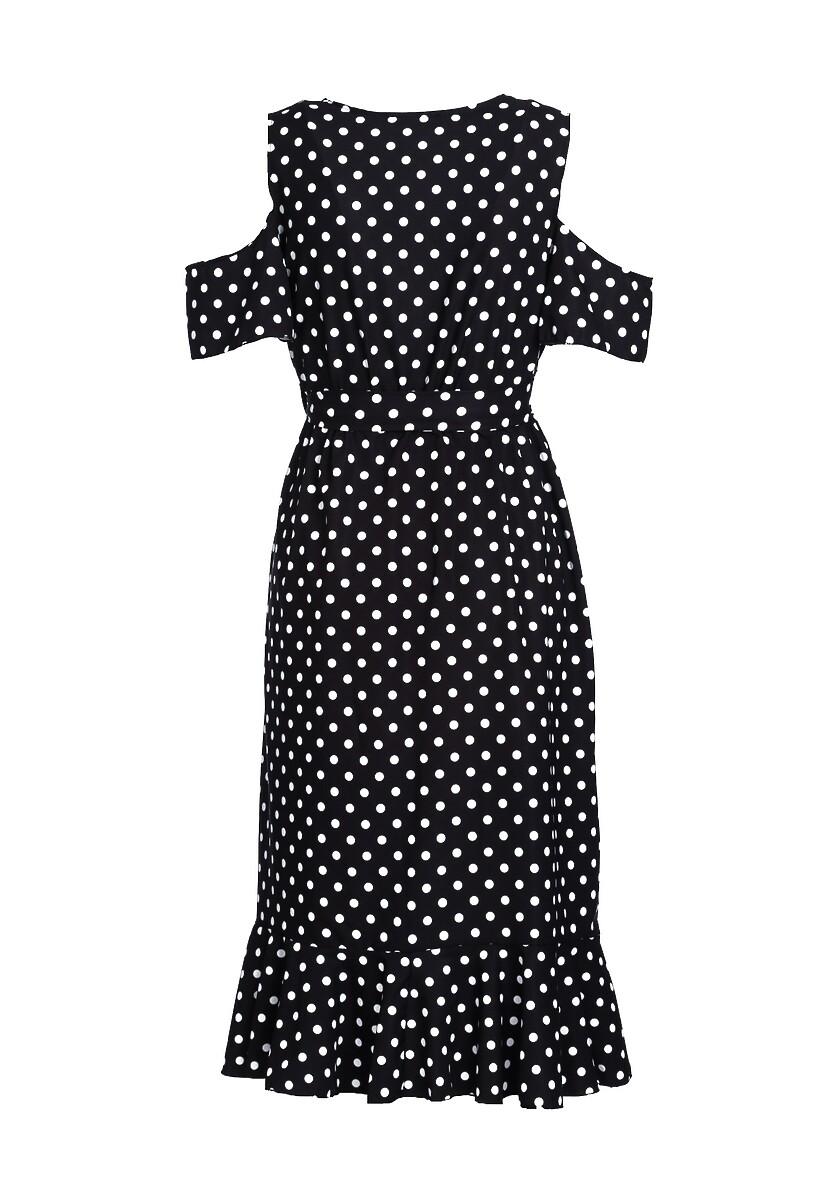 Czarna Sukienka Breezes