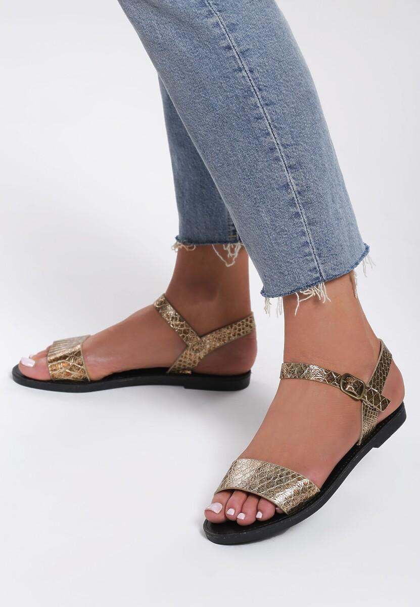 Brązowe Sandały Cloudlike