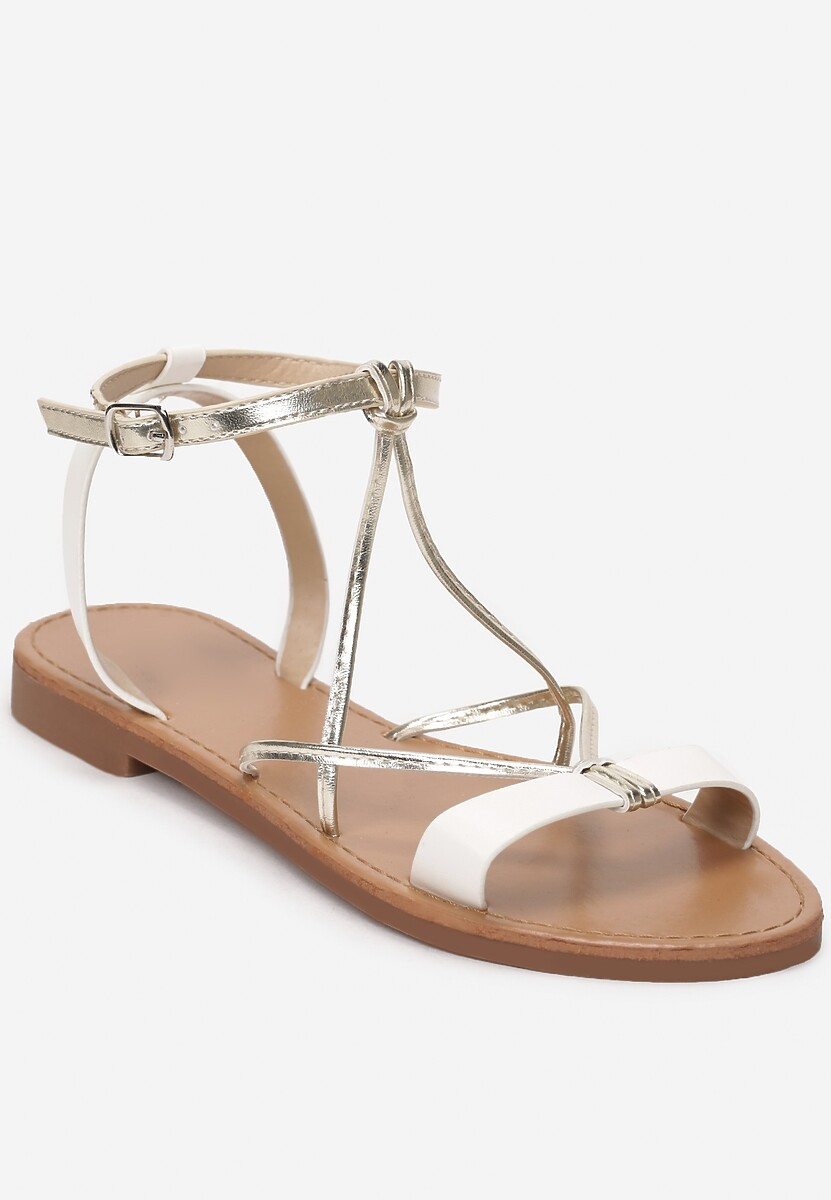 Białe Sandały Admittedly