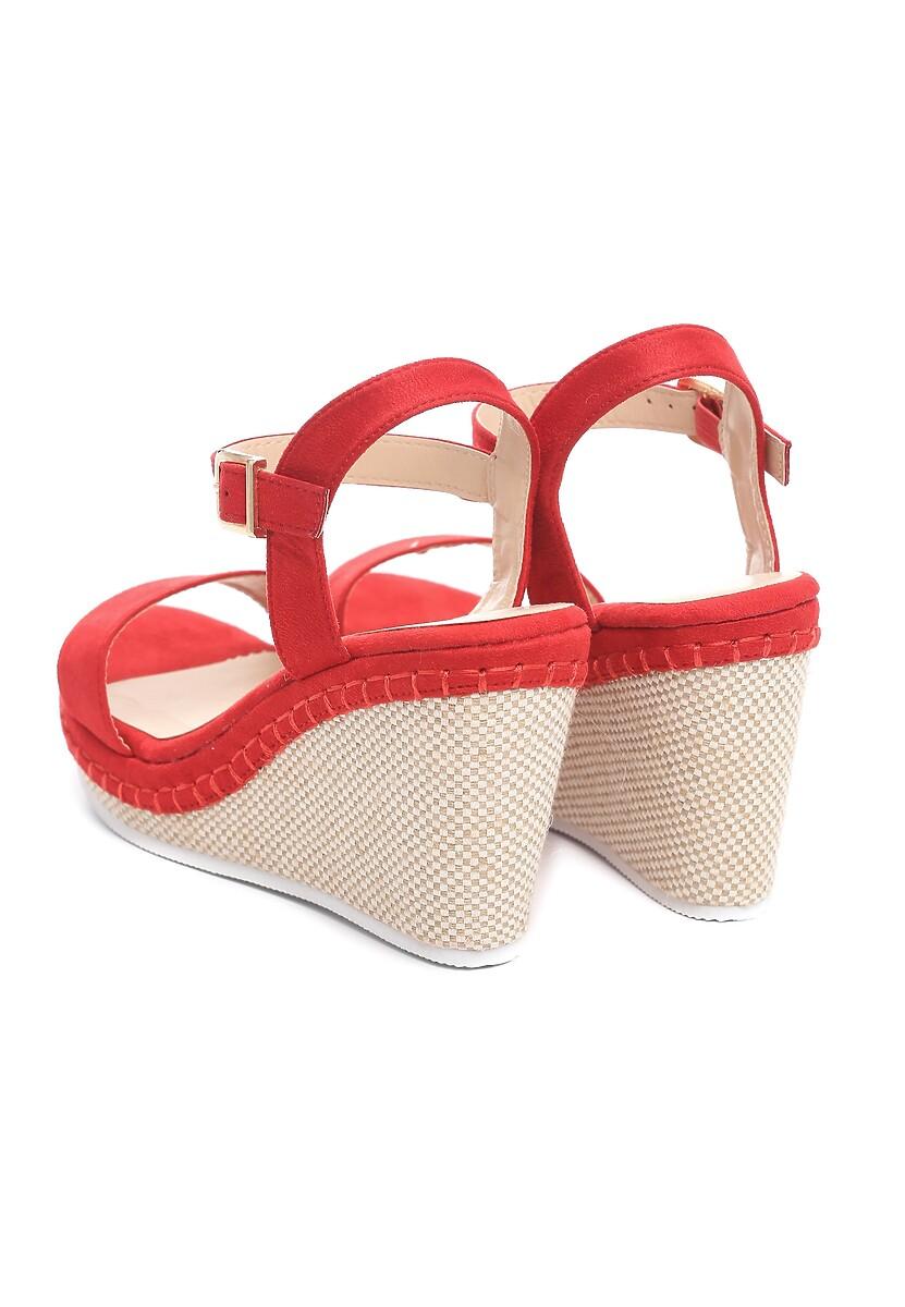 Czerwone Sandały Gainfuls