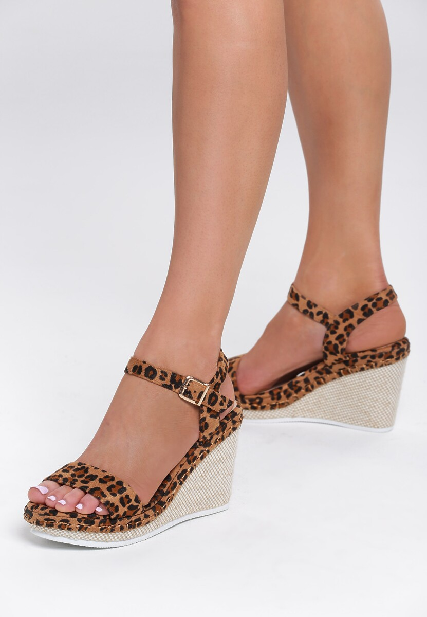 Panterkowe Sandały Gainfuls