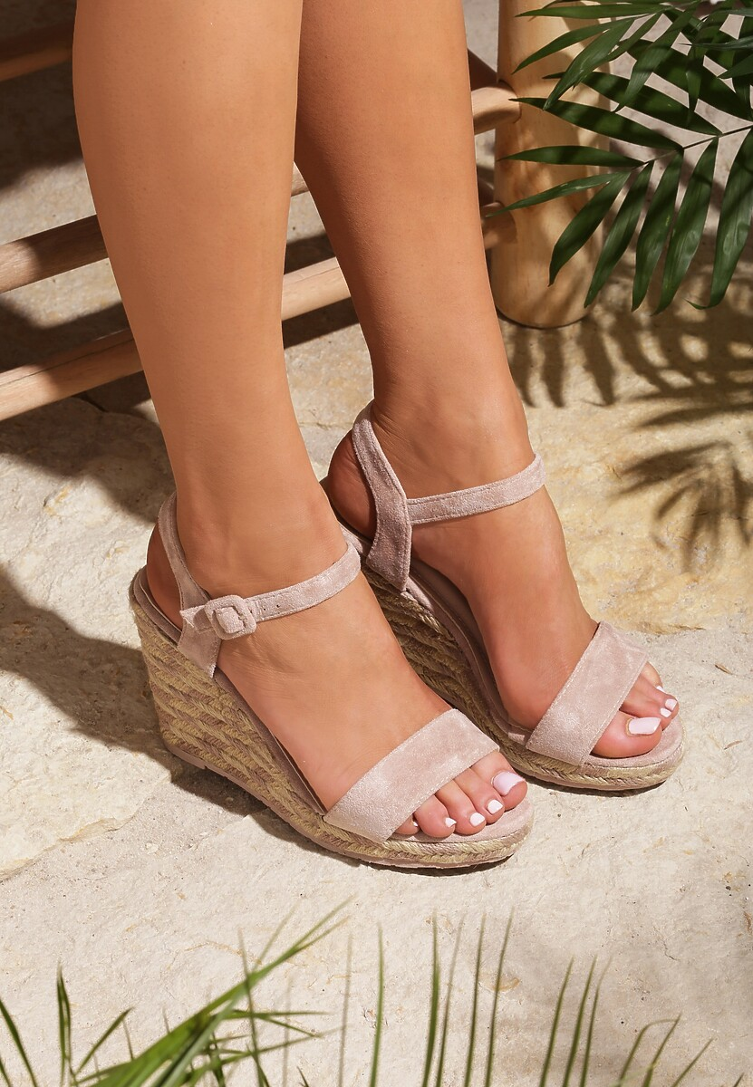Różowe Sandały Intercloud
