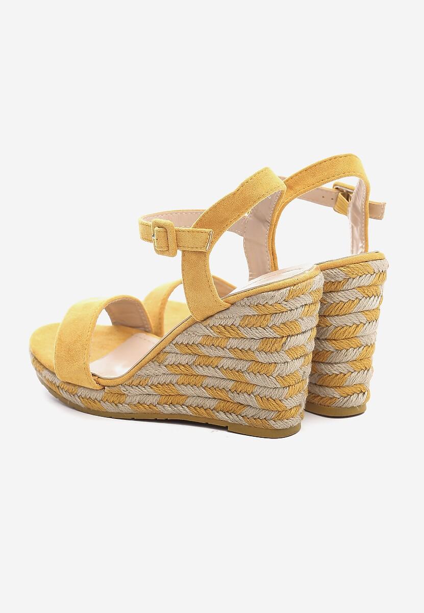 Żółte Sandały Intercloud