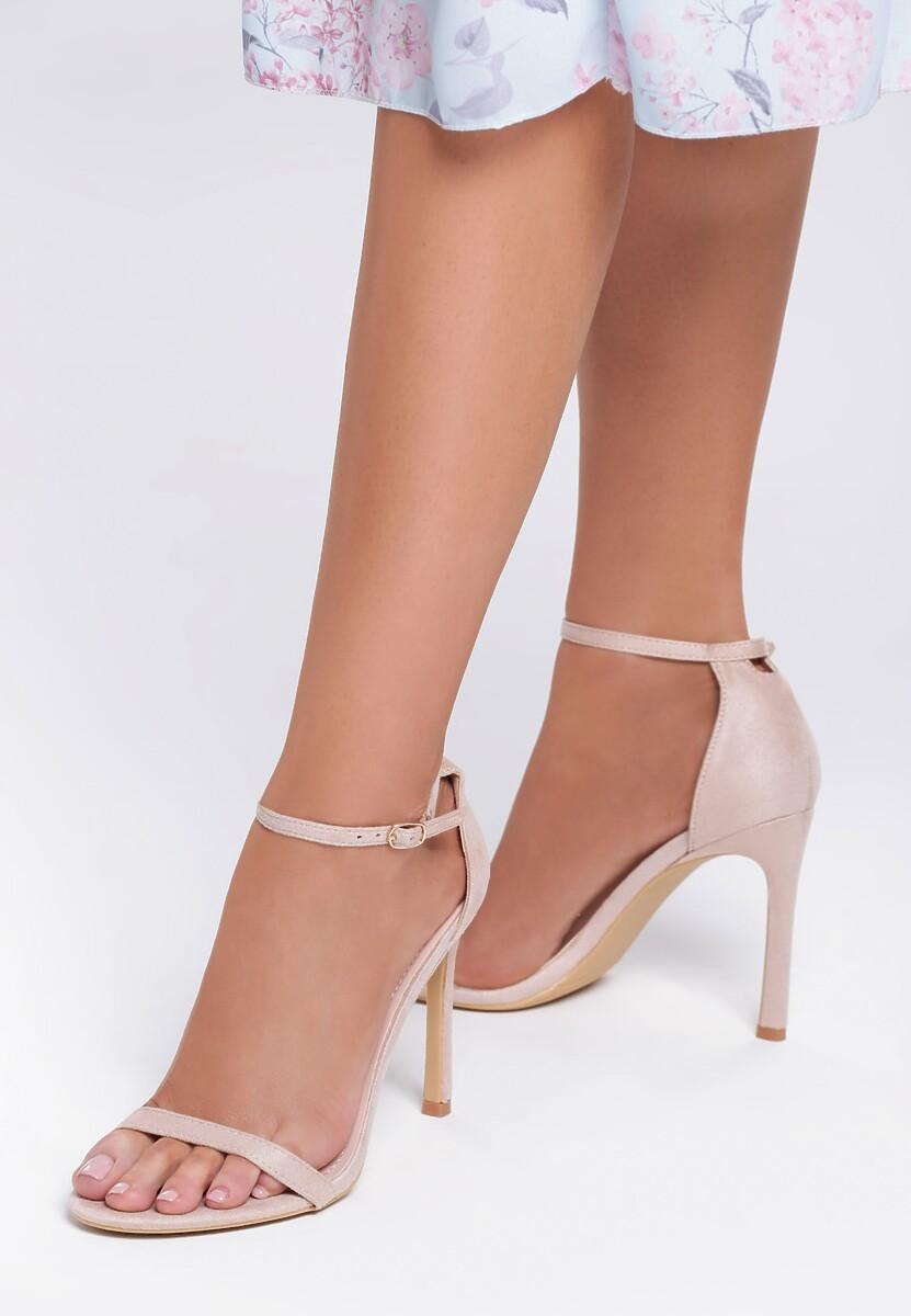 Beżowe Sandały Snaffle