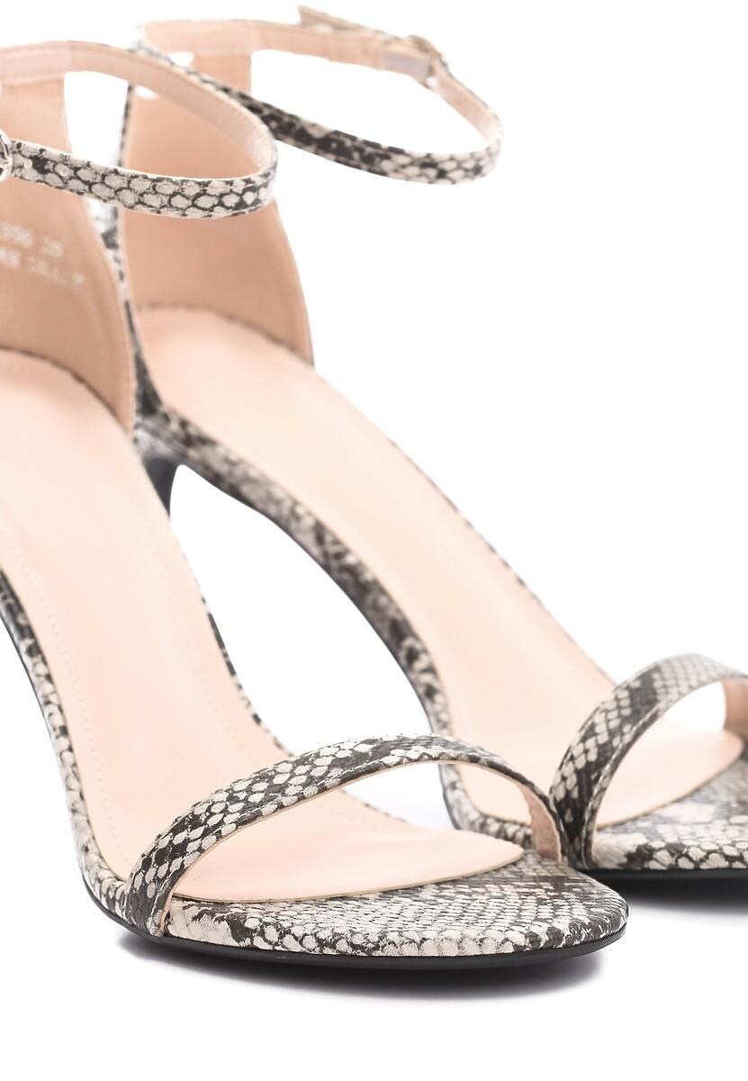 Brązowe Sandały Comity