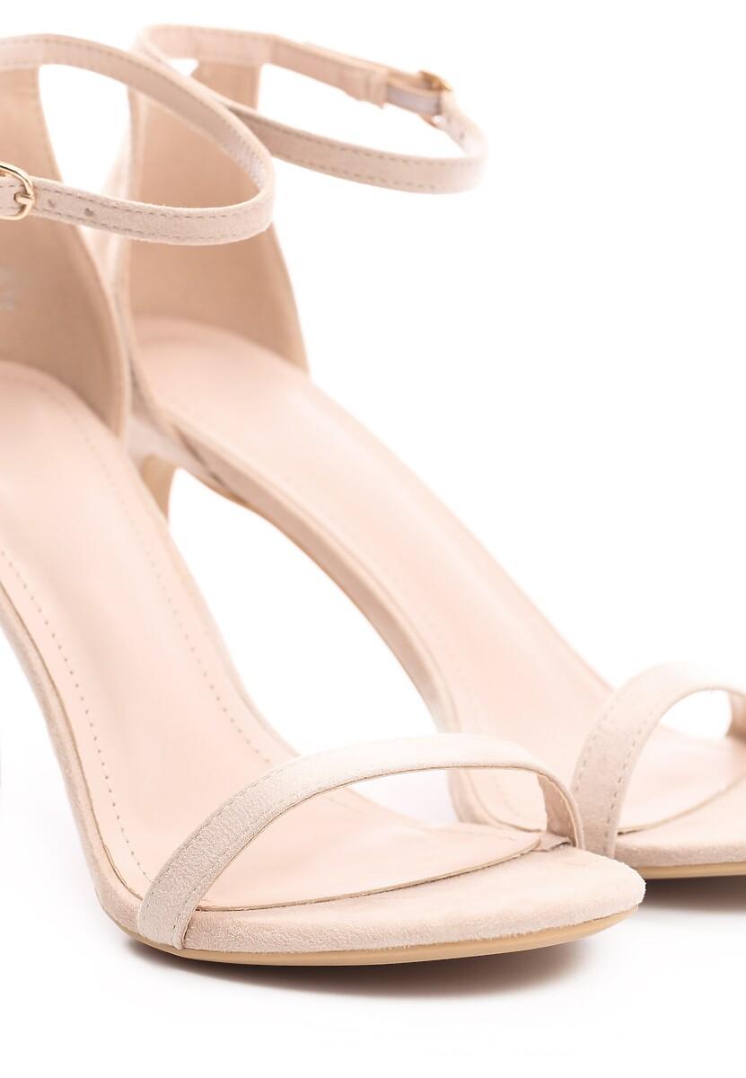 Beżowe Sandały Comity