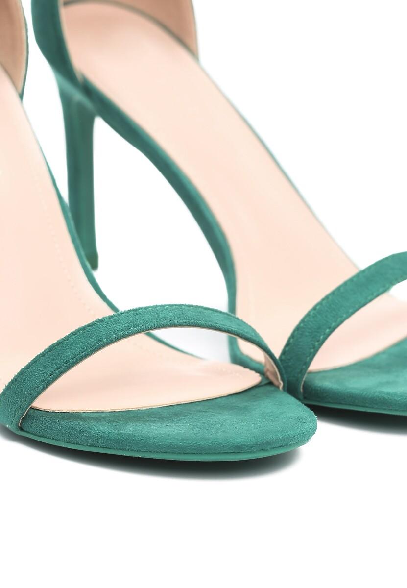 Zielone Sandały Comity
