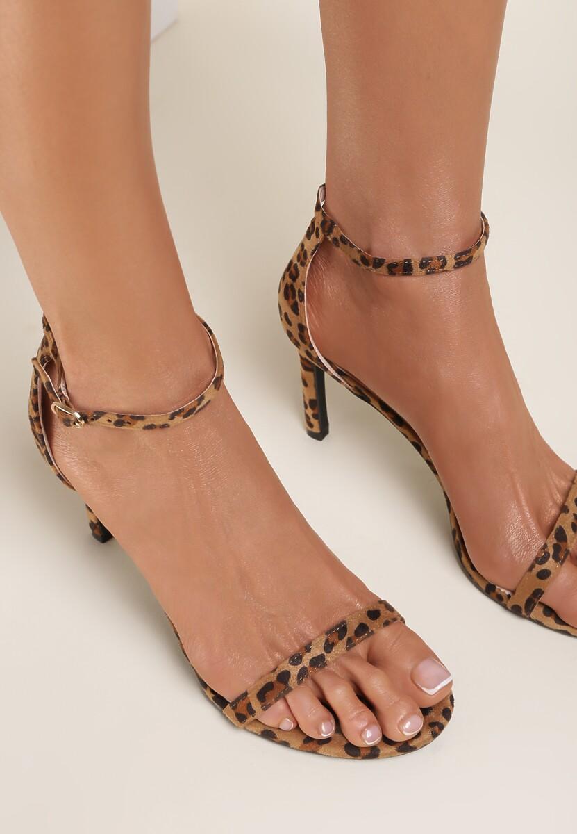 Panterkowe Sandały Comity
