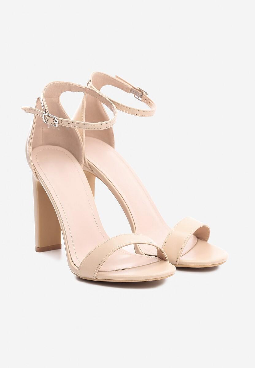 Beżowe Sandały Stupefyingly