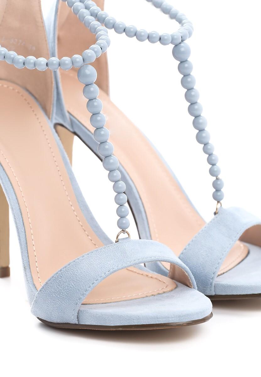 Niebieskie Sandały Catch It