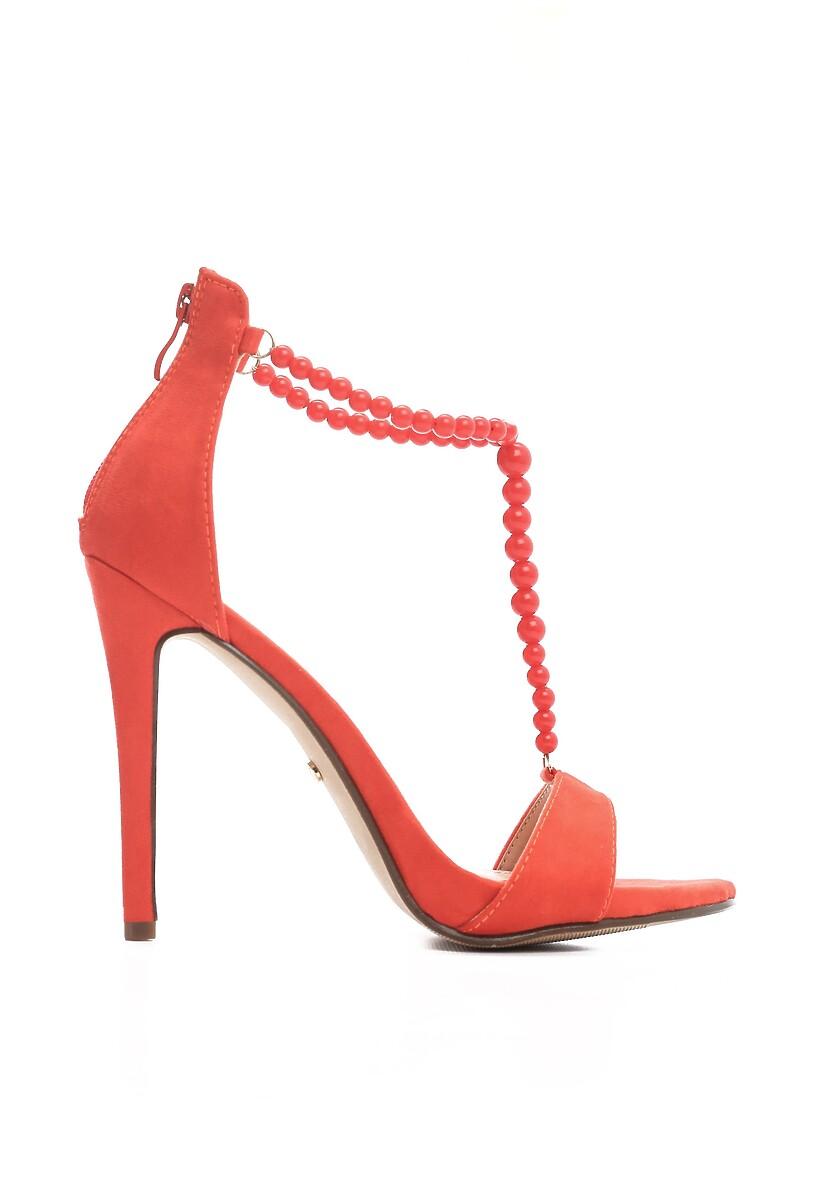 Czerwone Sandały Catch It