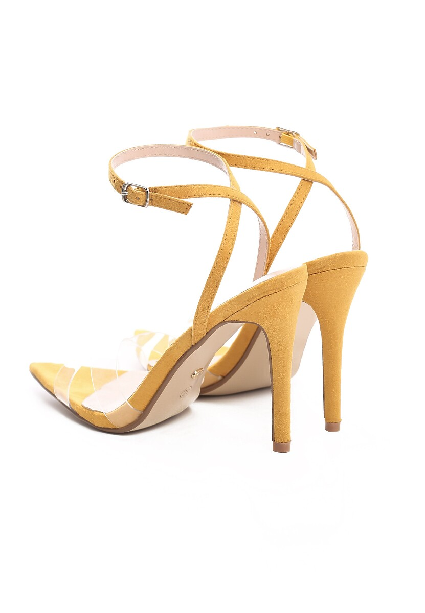 Żółte Sandały Clairvoyant